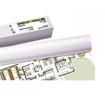 """ROLLO PLOTTER 90G 610MMX50M BLANCO 24\""\""            \"""