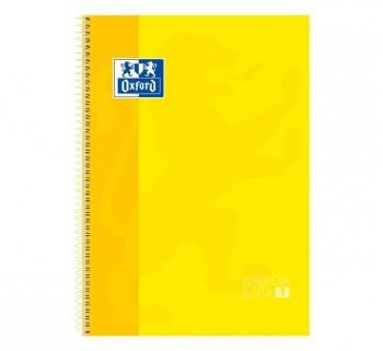 CUAD. OXFORD EBOOK1 A4 80H 5X5 T EXTRAD. AMARILLO