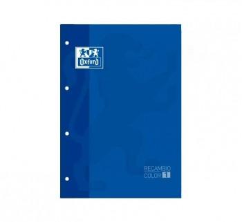 REC. OXFORD A4 80H 5X5MM AZUL 90G 400123672