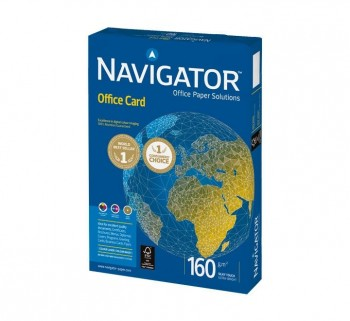 PAQ. 250H PAPEL NAVIGATOR OFFICE CARD A4 160G