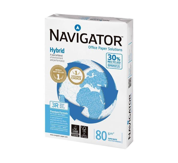 PAQ. 500H PAPEL NAVIGATOR HYBRID A4 80G 003REX