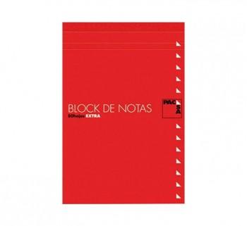 BLOC NOTAS C TAPA PACSA Fº LISO 60G. 80H 18902