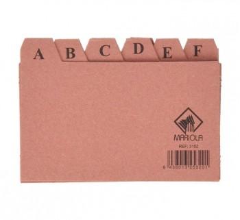 INDICE ALF.24 POS.CARTON 75X125 Nº2