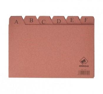 INDICE ALF.24POS.CARTON 125X200 Nº4