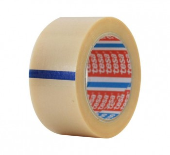 CINTA EMB. TESA PVC RUG. TRANSP. 50MMX66M 04100