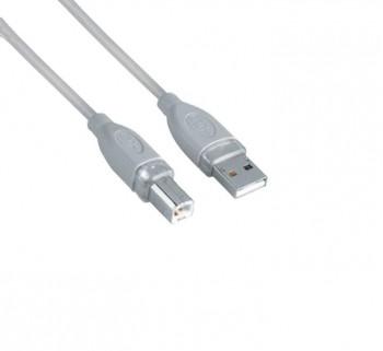 CABLE HAMA IMPRESORA USB 2.0 A-B 1.8M