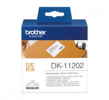 ETIQ BROTHER ENVIO 62X100MM NG BL DK11202