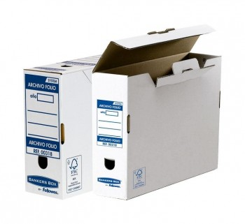 CAJA ARCH. DEFINITIVO FELLOWES Fº 100MM BANKERS
