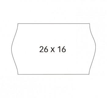 PACK 6 R. APLI ETIQ. REM. 26X16 S. BL.SINUSOIDAL