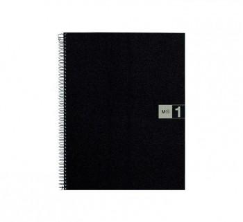 CUAD. MIQUEL RIUS NOTEBOOK 1 A4 80H GRIS