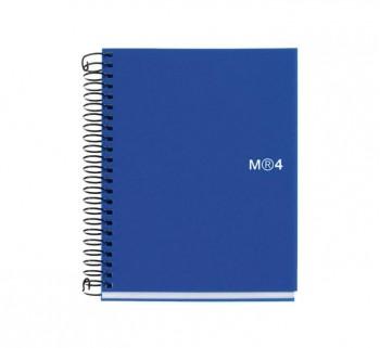 CUAD. MIQUEL RIUS NOTEBOOK 4 A6 140H AZ BASIC