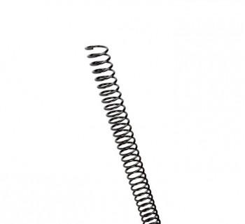 C.100 ESPIRALES GBC PLASTICO 12MM NEGRO