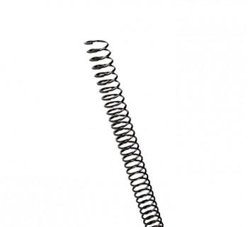 C.100 ESPIRALES GBC PLASTICO 6MM NEGRO