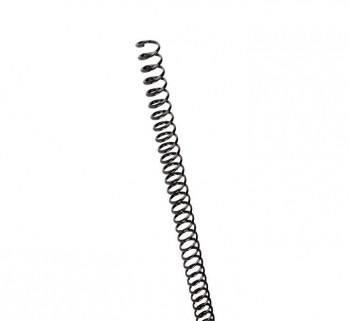 C.100 ESPIRALES GBC PLASTICO 8MM NEGRO