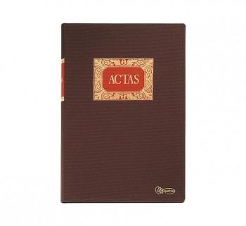 LIBRO ACTAS FOLIO NATURAL MIQUELRIUS 100H 4013