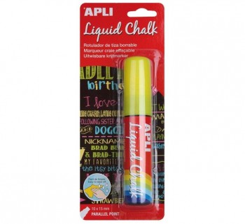 B. LIQUID CHALK APLI 10X15MM P.PARALELA 13962 AM.