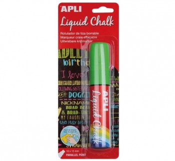B. LIQUID CHALK APLI 10X15MM P.PARALELA 13964 VE