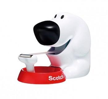 DISPENS. SCOTCH DOG C31 + 1ROLLO CINTA 19MMX8.9M