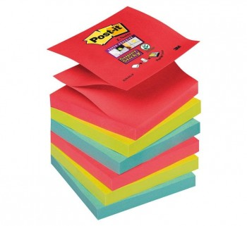 PACK 6 BLOC POST-IT S.STICKY Z-NOTAS R330-6SS-JP