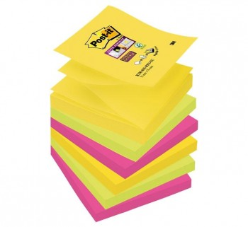 PACK 6 BLOC POST-IT S.STICKY Z-NOTAS R330-6SS-RIO