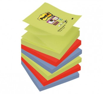 PACK 6 BLOC POST-IT S.STICKY Z-NOTAS R330-6SS-MAR