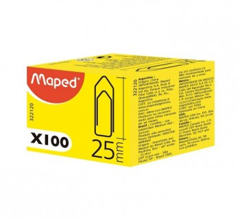 C.100U CLIPS MAPED 25MM 322120