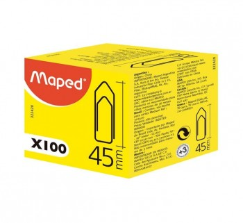 C.100U CLIPS MAPED 45 MM 322420