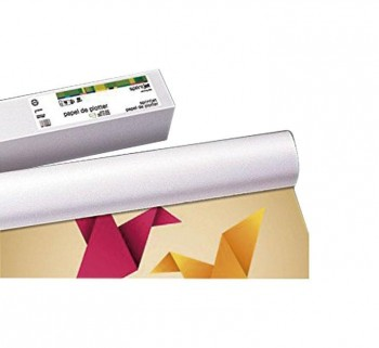 """ROLLO PLOTTER 140G 1067X30MM BL MATE 42\""\""          \"""
