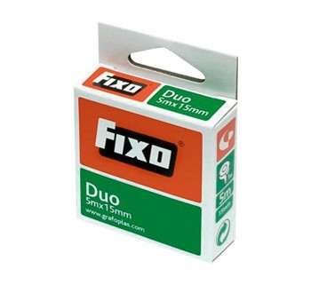 CINTA ADH. FIXO DUO DOBLE CARA 5MX15MM 7560030