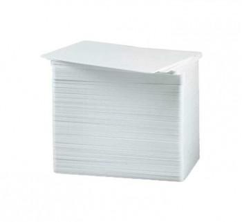 CAJA 500U. TARJETAS BLANCAS ZEBRA PVC 104523-111