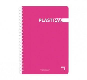 CUAD. PLASTIPAC PACSA Fº 80H 90G 3MM STDO 16412