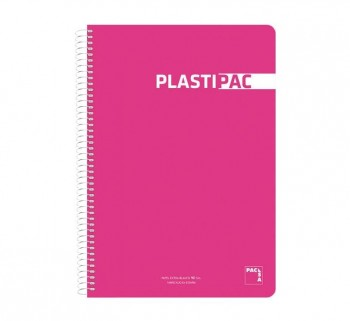 CUAD. PLASTIPAC PACSA Fº 80H 90G 4MM STD 16467