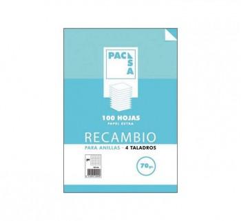 REC.100H FOLIO CUADRO PACSA 4X4 MRG 70G 21211