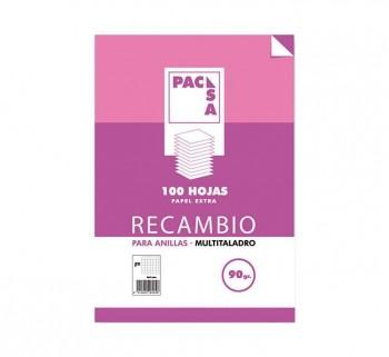 REC.100H A4 HORIZONTAL PACSA MRG 90G 21262