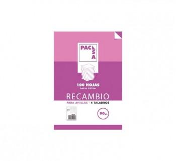REC.100H A4 MILIMETRADO PACSA MRG 90G 21274