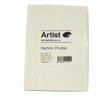 BLISTER 5H CARTON PLUMA ARTIST A4 5MM BL 6401112