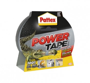 CINTA ADH. POWER TAPE PATTEX 50X25M GRIS 1669710