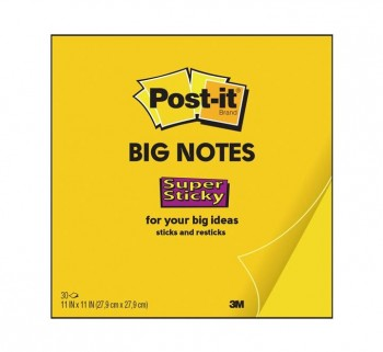 BLOC 30H NOTAS POST-IT SUP. STICKY 27.9X27.9 AMA