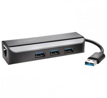 ADAP. RED KENSINGTON UA3000E USB 3.0 +HUB 3PUERTOS