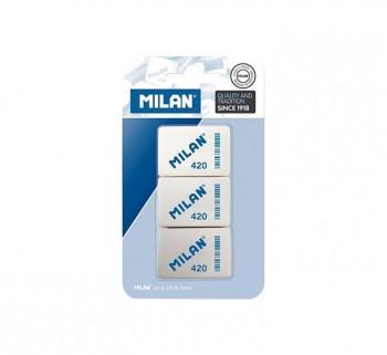 BLISTER 3 GOMAS MILAN MIGA DE PAN 420 BMM9221