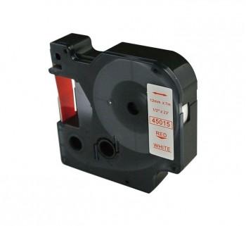 CINTA ROT. COMPATIBLE DYMO 12MM RJ BL 45015