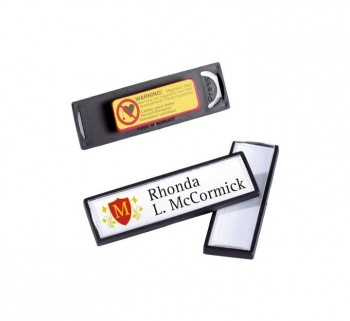 IDENT. DURABLE CLIP CARD C IMAN NEGRO 8132-01
