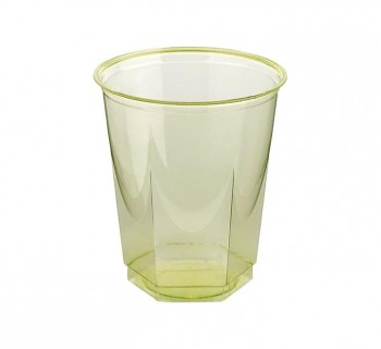 BOLSA 10 VASOS NUPIK GLASS 250CC VERDE