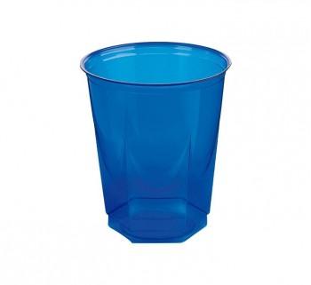 BOLSA 10 VASOS NUPIK GLASS 250CC AZUL