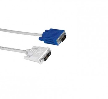CABLE PC HAMA DVI A VGA 1.8M 39045075