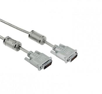 CABLE PC HAMA DVI-DVI DUAL 1.8M 39045077