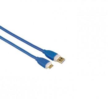 CABLE PC HAMA USB M 3.0 A MICRO USB M 1.8M