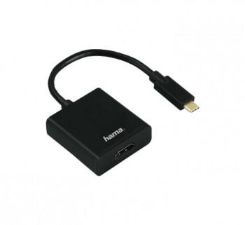 ADAPTADOR HAMA USB-C A HDMI HD 00135726