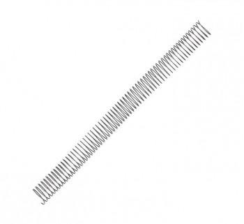 PACK 100 ESPIRALES FELLOWES MET. PLATA 24MM