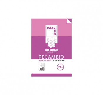 REC.100H A4 CUADRO 3.5 PACSA MRG 90G 21265